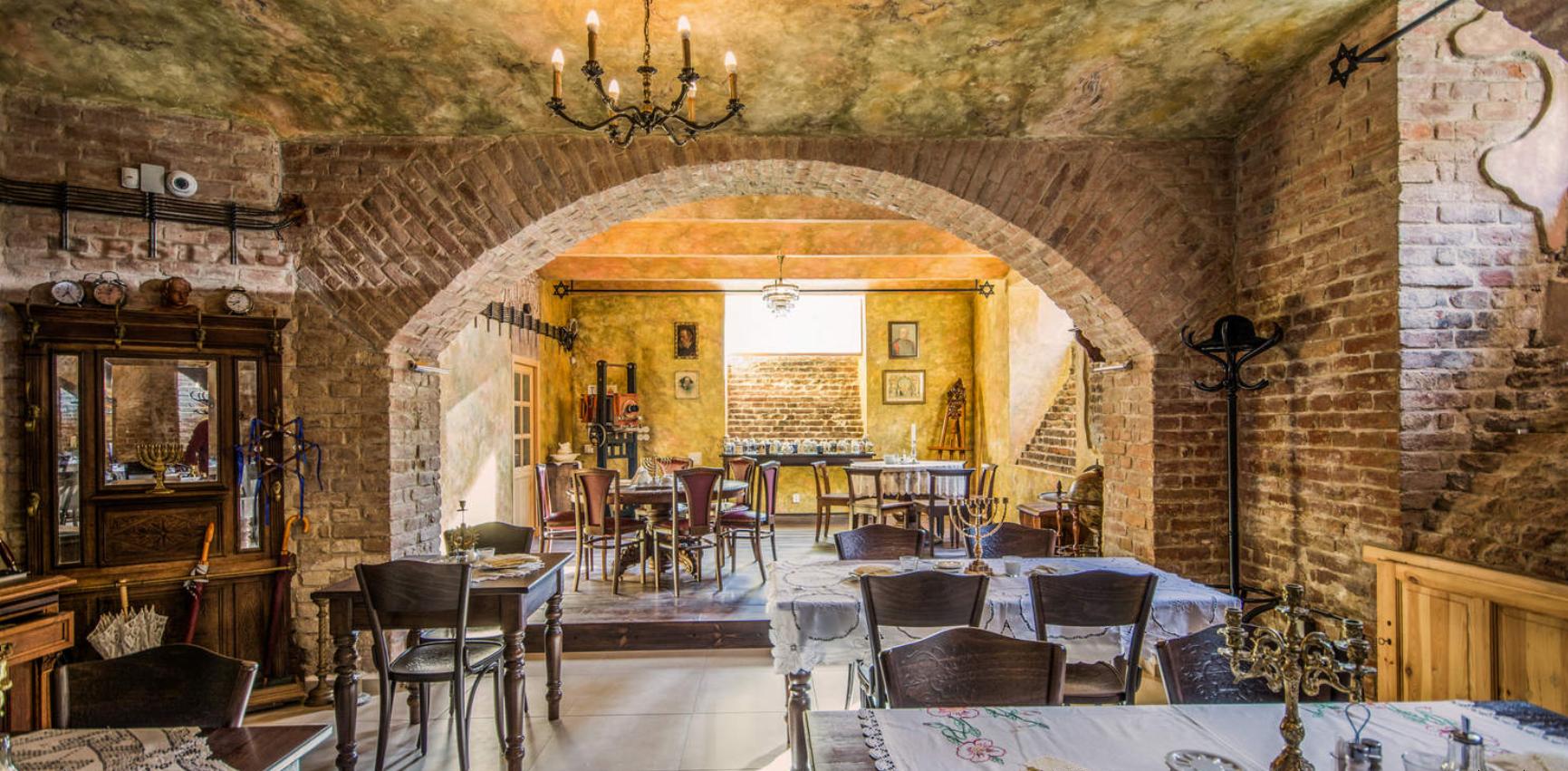 Židovská restaurace Stern 1888 Original Brno