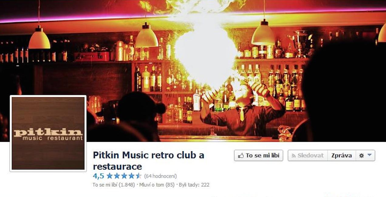 Music bar Pitkin, Brno. Více informací a fografií na facebooku.