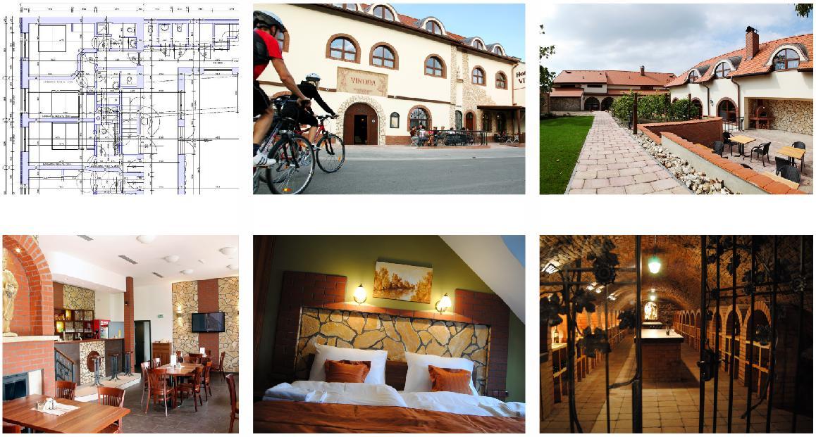 Hotel Vinopa Hustopeče, od půdorysu až po návrh loga. Mimochodem...vřele doporučuji! Skvěle vaří!  Více fotografií a informací na hotelvinopa.cz